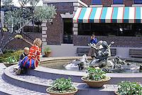 San Francisco: Ghirardelli Square--Fountain.  Photo '84.