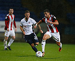 George Baldock of Sheffield Utd during the Championship match at the Macron Stadium, Bolton. Picture date 12th September 2017. Picture credit should read: Simon Bellis/Sportimage