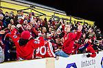 Bolln&auml;s 2015-12-11 Bandy Elitserien Bolln&auml;s GIF - Edsbyns IF :  <br /> Edsbyns supporter under matchen mellan Bolln&auml;s och Edsbyn <br /> (Foto: Kenta J&ouml;nsson) Nyckelord:  Bolln&auml;s GIF BGIF Giffarna S&auml;vsta&aring;s IP &Aring;sen Edsbyn Byn