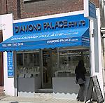 Diamond Palace shop, Hatton Garden, London, England