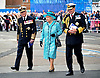 04.07.2014; London: QUEEN ELIZABETH<br /> officially named the UK's newest aircraft carrier at Rosyth Dockyard, near Edinburgh.<br /> It is the largest warship ever built in the UK.<br /> Mandatory Credit Photo: &copy;Crown Copyright/NEWSPIX INTERNATIONAL<br /> <br /> **ALL FEES PAYABLE TO: &quot;NEWSPIX INTERNATIONAL&quot;**<br /> <br /> IMMEDIATE CONFIRMATION OF USAGE REQUIRED:<br /> Newspix International, 31 Chinnery Hill, Bishop's Stortford, ENGLAND CM23 3PS<br /> Tel:+441279 324672  ; Fax: +441279656877<br /> Mobile:  07775681153<br /> e-mail: info@newspixinternational.co.uk
