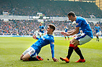 11.3.2018 Rangers v Celtic:<br /> Josh Windass celebrates his goal