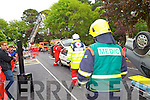 Members of Kerry Emergency Services taking part in the Hero's Weekend in Tralee on Saturday.