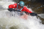 2 June 2007:  Devon Barker earns the sliver medal in the Women's Pro Freestyle Kayak competition at the Teva Mountain Games, Vail, Colorado.