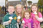 ICE CREAM: Enjoying their icecream at the Ardfert Summer Harvest, on Saturday, L-r: Ciara?n and Saoirse Sheehy (Kilmoyley), Sileoonagh and Labhaoise Mansfield (Tralee)..