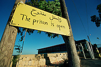 Khiam Prison / South Lebanon - 2007.The Khiam Detention Center, located near Khiam, Lebanon, was a French barrack complex originally built in the 1930s. It became a base for the Lebanese army before falling under control of the South Lebanon Army (SLA) and in 1985 was converted into a prison camp. It remained in use for alleged torture of Lebanese civilians until Israel's withdrawal from Lebanon in May 2000, and the subsequent collapse of the SLA. After the withdrawal, the prison camp was preserved in the condition it was abandoned, and converted into a museum by Hezbollah..The Israeli Air Force destroyed the prison during the 2006 Israel-Lebanon conflict..Photo Livio Senigalliesi...