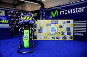 8th September 2017, Misano World Circuit, Misano Adriatico, San Marino; San Marino MotoGP, Friday free practice; Valentino Rossi in his garage