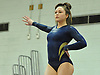 Heidi Baldinger of Massapequa performs on the balance beam during a Nassau County varsity gymnastics meet against Plainview JFK at McKenna Elementary School on Monday, Feb. 1, 2016.