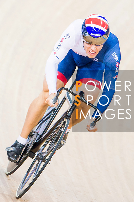 Ryan Owens of Great Britain competes on the Men's Sprint Quarter-finals - 2nd Race during the 2017 UCI Track Cycling World Championships on 15 April 2017, in Hong Kong Velodrome, Hong Kong, China. Photo by Marcio Rodrigo Machado / Power Sport Images