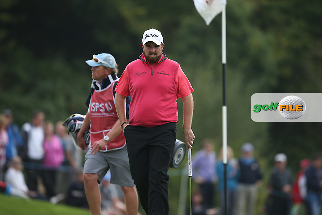 No birdies at all for Shane Lowry (IRL) on the back nine which gives the advantage to Joost Luiten (NED) for a two shot lead during Round Three of the ISPS Handa Wales Open 2014 from the Celtic Manor Resort, Newport, South Wales. Picture:  David Lloyd / www.golffile.ie
