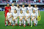 UEFA Women's Champions League 2018/2019.<br /> Quarter Finals.<br /> FC Barcelona vs LSK Kvinner FK: 3-0.