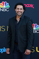 "LOS ANGELES - SEP 26:  Jon Huertas at the ""This Is Us"" Season 2 Premiere Red Carpet at the Neuehouse Hollywood on September 26, 2017 in Los Angeles, CA"