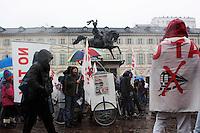 Torino: manifestazione dei NO TAV per protestare contro gli arresti per gli scontri del 3 luglio del 2011...Turin: No tav demonstration in Turin