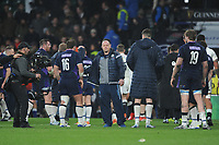 Gregor Townsend, Scotland Head Coach, looks dejected at the end of the Guinness Six Nations Calcutta Cup match between England and Scotland at Twickenham Stadium on Saturday 16th March 2019 (Photo by Rob Munro/Stewart Communications)