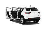Car images close up view of a 2017 Jeep Compass Latitude 5 Door SUV doors