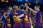 UEFA Champions League 2018/2019.<br /> Round of 16 2nd leg.<br /> FC Barcelona vs Olympique Lyonnais: 5-1.