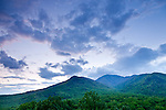 Sunrise over Mt LaConte, Great Smoky Mountains National Park, Tennesee, USA