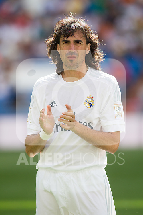 Jose Amavisca during the Corazon Classic Match 2016 at Estadio Santiago Bernabeu between Real Madrid Legends and Ajax Legends. Jun 5,2016. (ALTERPHOTOS/Rodrigo Jimenez)