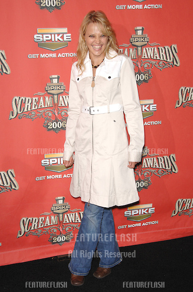 JESSICA GOWER at the Spike TV Scream Awards 2006 at the Pantages Theatre, Hollywood..October 7, 2006  Los Angeles, CA.Picture: Paul Smith / Featureflash