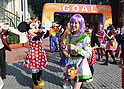 Disney Halloween Fun and Run at Tokyo Disneyland