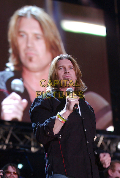 BILLY RAY CYRUS.2007 CMA Music Festival held at LP Field,Nashville, Tennessee, USA, 09  June 2007..half lenth live on stage concert country performing.CAP/ADM/LF.©Laura Farr/AdMedia/Capital Pictures.