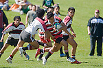 Counties Manukau Under 14's vs North Harbour rugby game played at Growers No 2, Pukekohe, on September 15th 2007. North Harbour won 18 - 14.