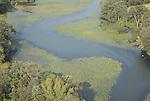 AErial view of waterway landscape in Delaware