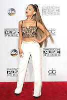 LOS ANGELES - NOV 20: Ariana Grande at the 2016 American Music Awards at Microsoft Theater on November 20, 2016 in Los Angeles, California
