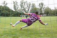 Bastian Reichmann (SKG) verwandelt den Elfmeter in seinem letzten Spiel - SKG Walldorf vs. RW Walldorf, 15. Meik-Pfuhl-Gedächtnisturnier, Finale