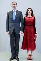 FEB 14 Spanish Royals Visit Spanish Community In Morocco