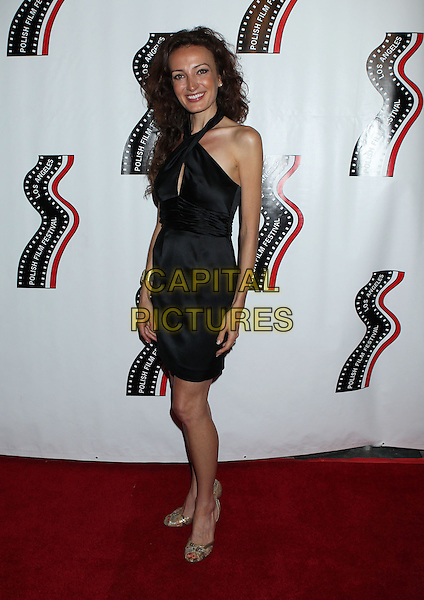 Anna Podolak<br /> 13th annual Polish film festival at American Cinematheque's Egyptian Theatre, Hollywood, California, USA.<br /> 9th October 2012<br /> full length black dress <br /> CAP/ADM/RE<br /> &copy;Russ Elliot/AdMedia/Capital Pictures