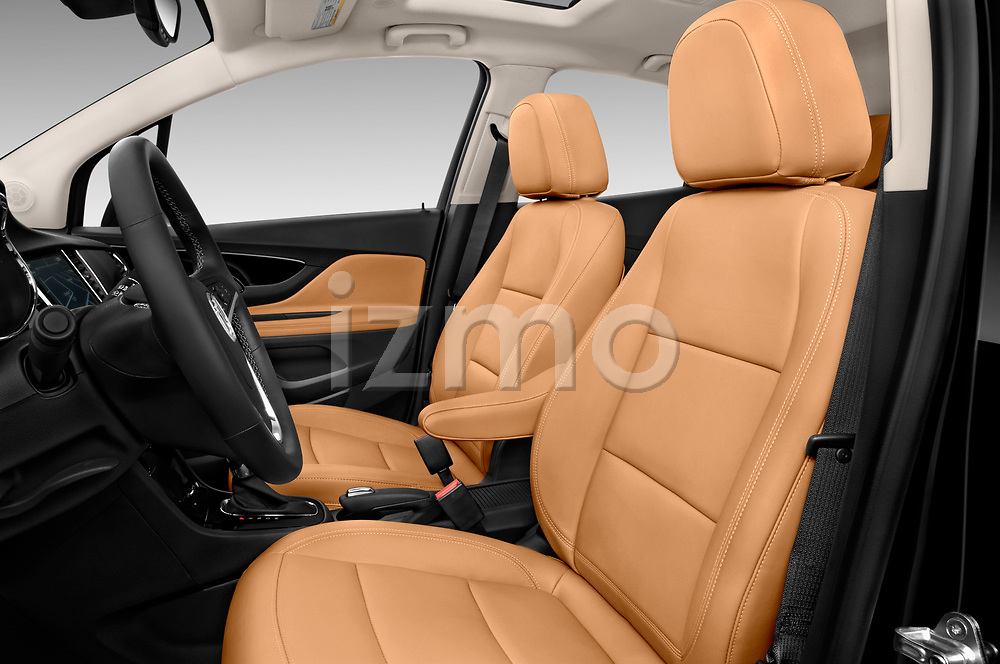 Front seat view of 2019 Buick Encore Premium 5 Door Suv Front Seat  car photos
