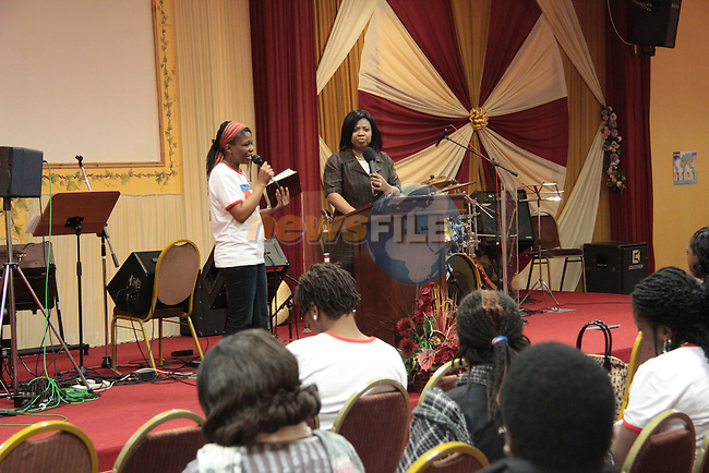 Women's Prayer Summit at Solid Rock Church..Picture: Shane Maguire / www.newsfile.ie.
