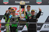 #11 TEAM SRC KAWASAKI FRANCE (FRA) KAWASAKI ZX 10R FORMULA EWC GUARNONI JEREMY (FRA) CHECA DAVID (ESP) NIGON ERWAN (FRA) WINNER 24H MOTO