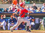 7 March 2013: Washington Nationals outfielder Tyler Moore in action during a Spring Training game against the Houston Astros at Osceola County Stadium in Kissimmee, Florida. The Astros defeated the Nationals 4-2 in Grapefruit League play. Mandatory Credit: Ed Wolfstein Photo *** RAW (NEF) Image File Available ***