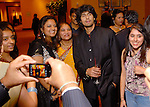 Fans surround singer Sonu Niigaam at the Indian Film Festival Celebrity Gala at the InterContinental Hotel Saturday evening Sept. 26,2009. (Dave Rossman/For the Chronicle)