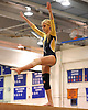 Bethpage gymnastics at Long Beach High School Monday, January 4, 2016. Chelsea Welsch - Balance Beam