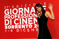 Giornate Professionali del Cinema 2014     <br /> Lorena Bianchetti   during the professional days of cinema in Sorrento december 03 , 2014                         Giornate Professionali del Cinema 2014