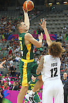 07.09.2014. Barcelona, Spain. 2014 FIBA Basketball World Cup, round of 16. Picture show P. Jankunas  in action during game between New Zealand   v  Lithuania at Palau St. Jordi
