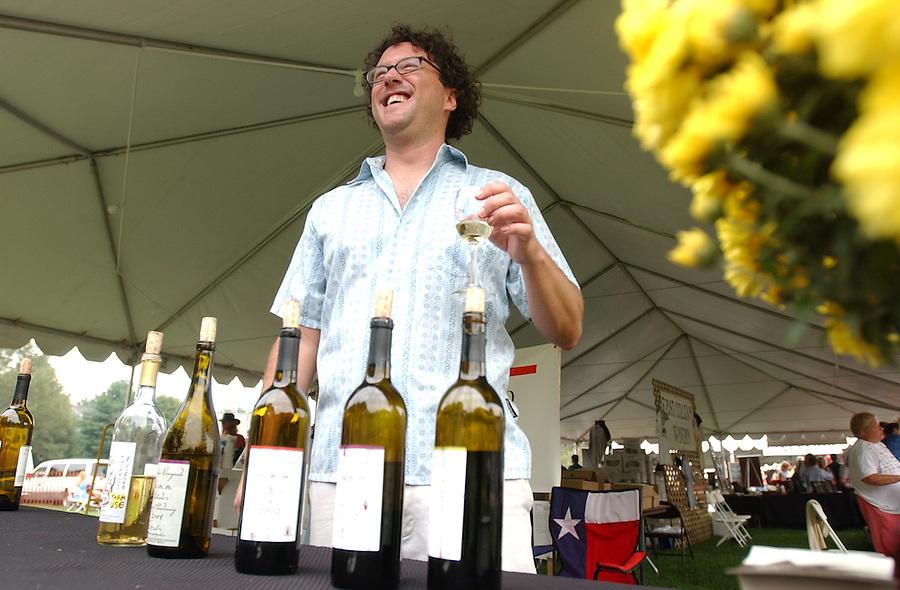 Wine festival at Montpelier in Orange Va.
