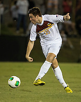 Winthrop University Eagles vs the Brevard College Tornados at Eagle's Field in Rock Hill, SC.  The Eagles beat the Tornados 6-0.  Jose Mencia (25)