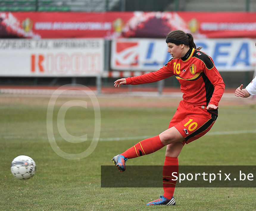 Belgium U19 - Switzerland U19 : Laura De Neve.foto DAVID CATRY / Nikonpro.be