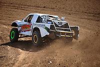 Mar. 18, 2011; Chandler, AZ, USA;  LOORRS pro 2 unlimited driver Jesse James during qualifying for round one at Firebird International Raceway. Mandatory Credit: Mark J. Rebilas-