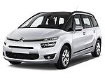 Front three quarter view of a 2013 Citroen Grand C4 Picasso Intensive MPV2013 Citroen Grand C4 Picasso Intensive MPV