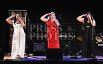 McDonagh sisters Nichola, Wendy and Suzan performing in The Barbican Centre. Photo:Colin Bell/pressphotos.ie
