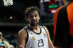 Basketball Real Madrid´s Sergio Llull during Euroleague basketball match in Madrid, Spain. October 17, 2014. (ALTERPHOTOS/Victor Blanco)