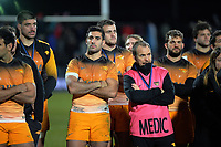 The Jaguares after the 2019 Super Rugby final between the Crusaders and Jaguares at Orangetheory Stadium in Christchurch, New Zealand on Saturday, 6 July 2019. Photo: Dave Lintott / lintottphoto.co.nz