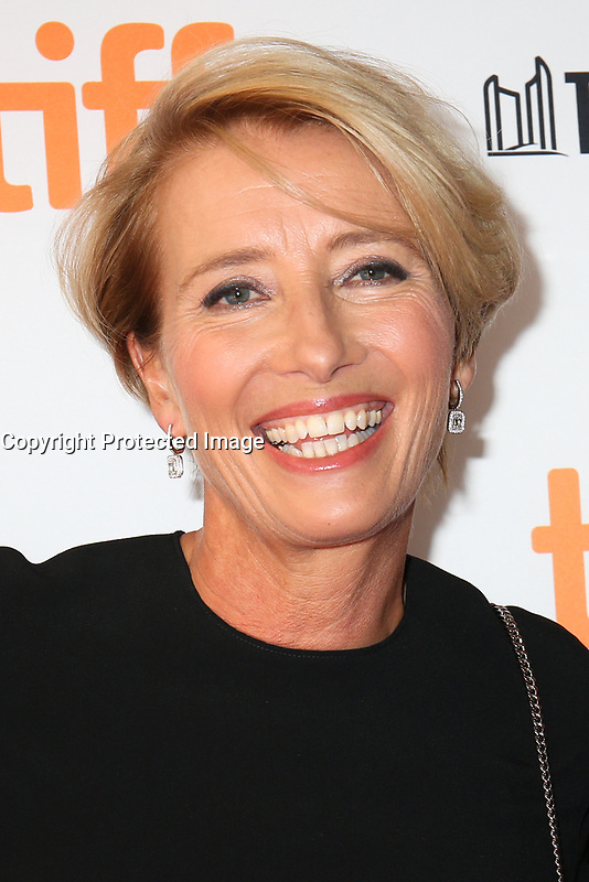 EMMA THOMPSON - RED CARPET OF THE FILM 'THE CHILDREN ACT' - 42ND TORONTO INTERNATIONAL FILM FESTIVAL 2017 . TORONTO, CANADA, 09/09/2017. # FESTIVAL DU FILM DE TORONTO - RED CARPET 'THE CHILDREN ACT'