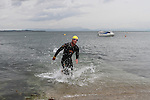 """Fear Erazmus 3rd Place at the Clogherhead """"Round the Head Swim""""....(Photo credit should read Jenny Matthews/NEWSFILE)..."""