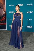 "LOS ANGELES - NOV 5:  Kara Del Toro at the ""Midway"" Premiere at the Village Theater on November 5, 2019 in Westwood, CA"